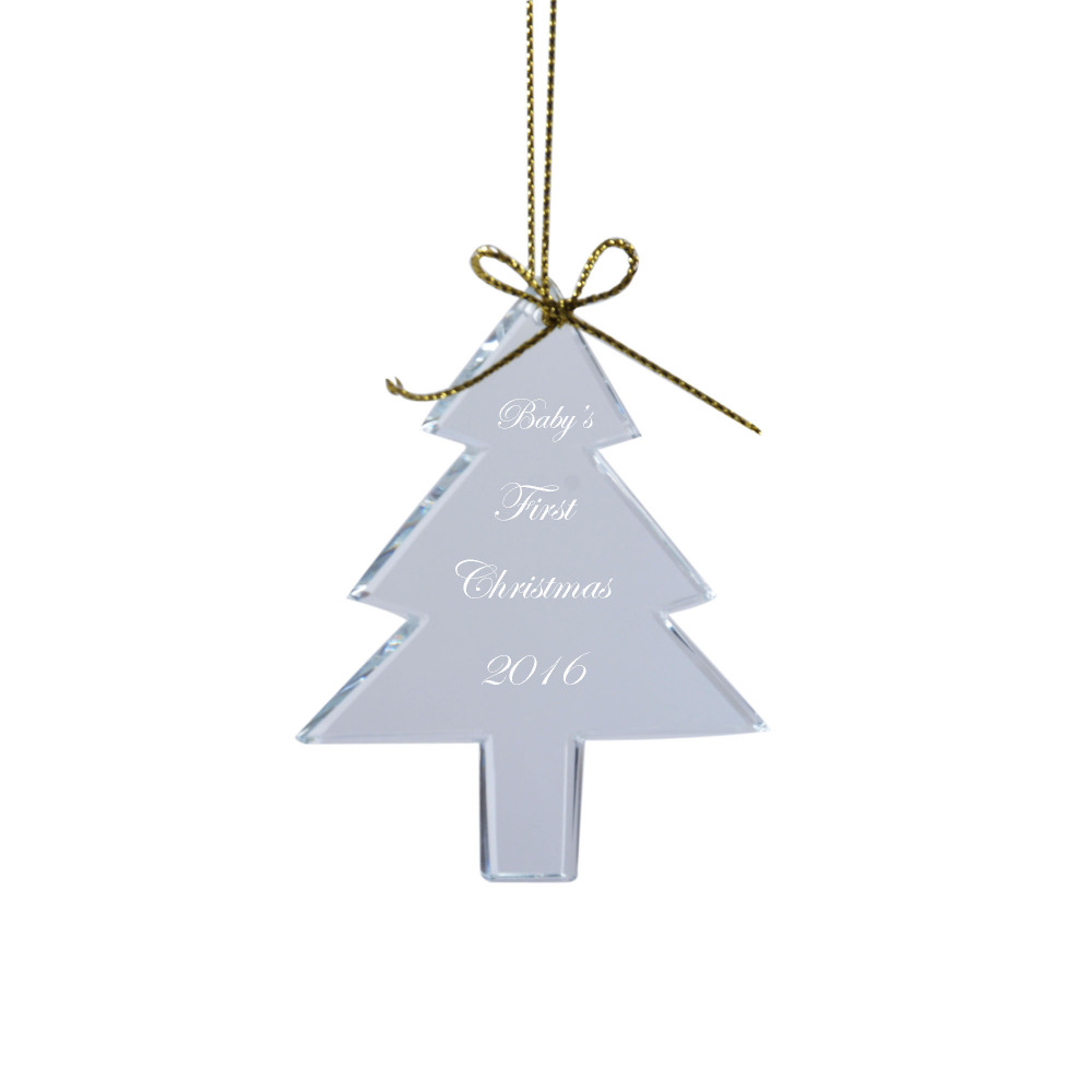 Blank ornaments to personalize - Personalized Custom Christmas Tree Ornament Decoration Pendant Engraved For Free