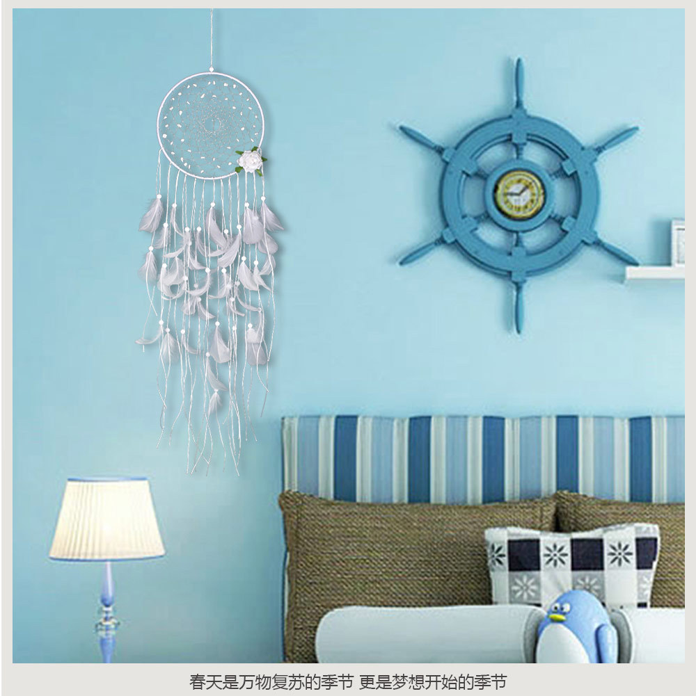 big dream catcher decor for home-nordic decoration home-kids room decoration-wind chimes-dream catchers hanging dreamcatcher new (35)