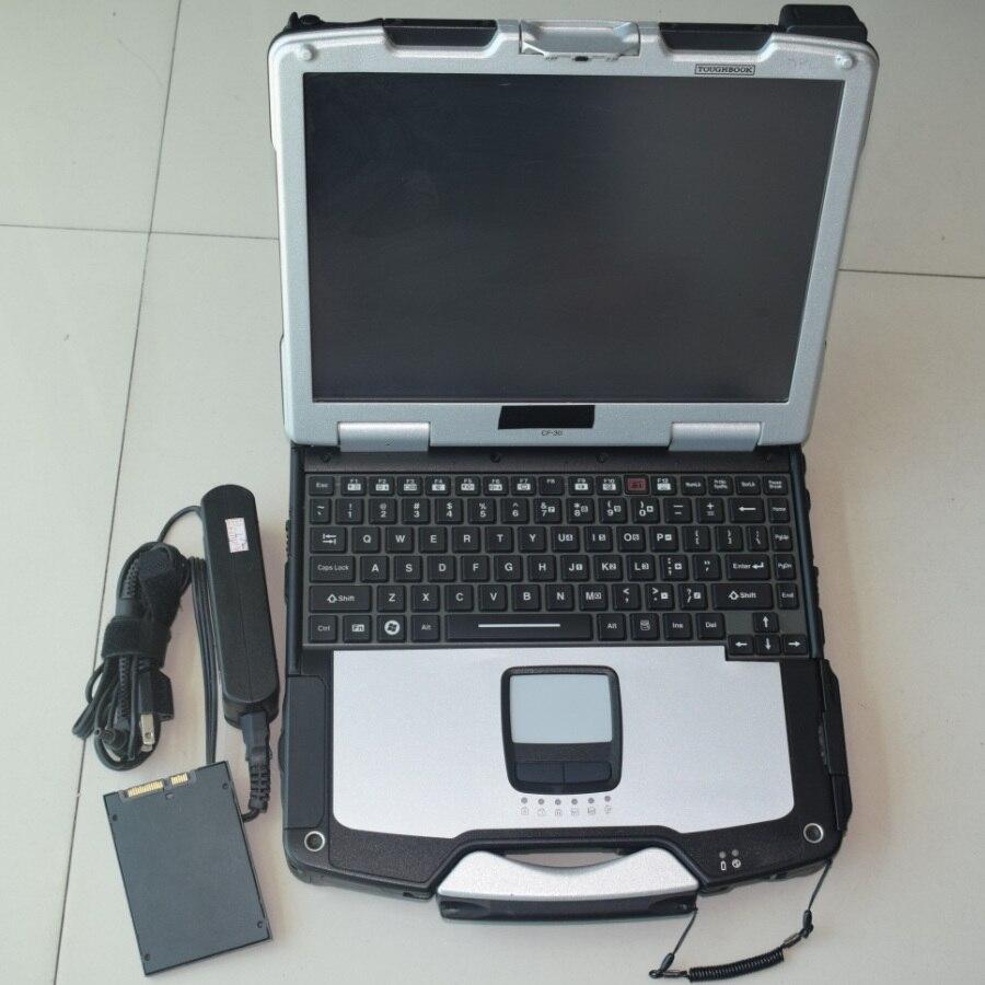 Super SSD 480 go avec logiciel pour icom a2 a3 suivant ista expert mode avec ordinateur portable cf30 utilisé 4g multi langues garantie d'un an