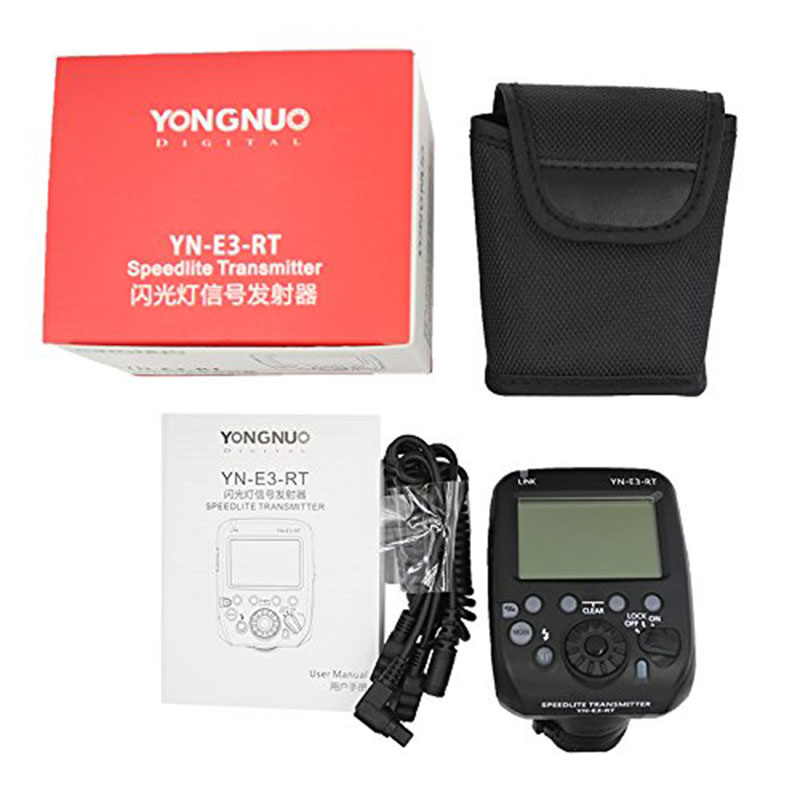 Yongnuo YN-E3-RT TTL Radio Flash Trigger Speedlite Transmitter Controller as ST-E3-RT for Canon 600EX-RT,YONGNUO YN600EX-RT II аксессуар yongnuo yn e3 rx дополнительный приемник