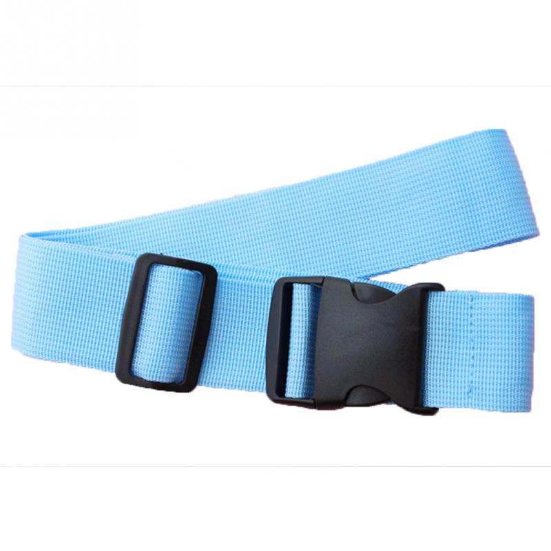 все цены на 8 Colors Adjustable Nylon Lock Travel Luggage Straps Belt Protective Travel Accessories Suitcase Packing Belt онлайн