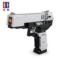 CADA 412pcs Blocks M23 Pistol Gun Call Army Military Duty Building Brick Weapon SWAT pubg Technic Toys For Boys Gifts