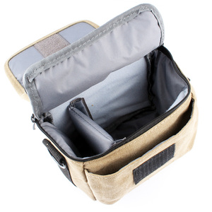 Image 4 - Canvas Camera Bag Case Cover For Sony Alpha A7 Mark II S R A77 A7III A6500 A6300 A6000 A5100 NEX6 H400 HX400 HX300