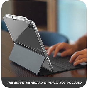 Image 5 - Smart Keyboard & Pencil are NOT INCLUDED!For iPad Pro 11 Case i Blason Case With Pencil Holder Compatible with Official Keyboard
