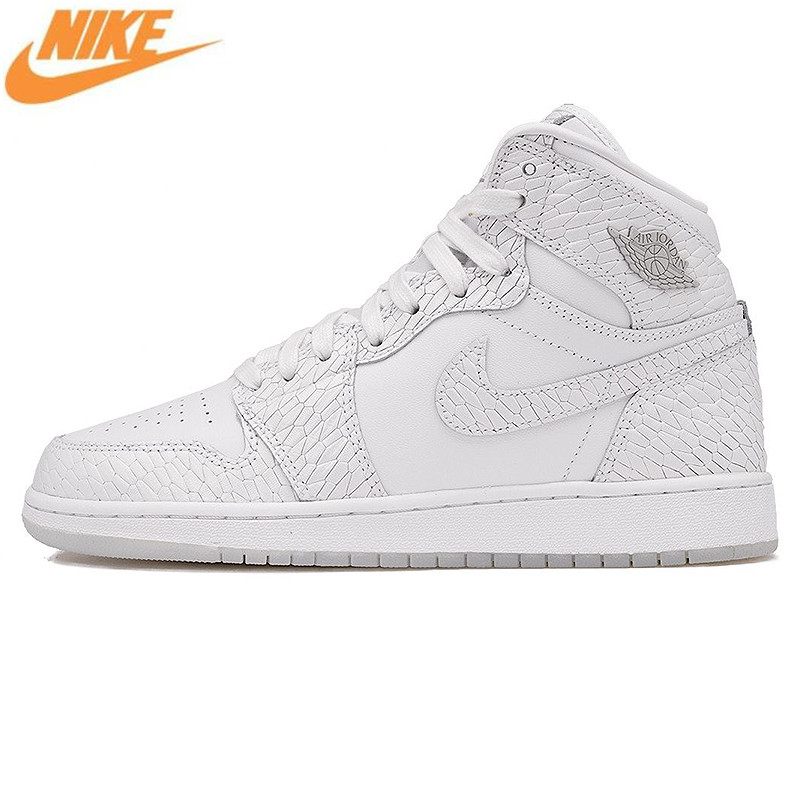 Nike Air Jordan 1 Retro High Pre HC AJ Women's Basketball Shoes, Outdoor Shock-absorbing Comfortable Sneakers Shoes 832596 100
