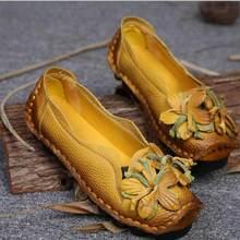 2017 Топ Мода Slip-On натуральной резины цветочный Мокасины CREEPERS обувь ручной работы новый осень народном Стиль Повседневная Обувь цветочный Zcw589