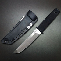 Mengoing High Quality Cold Steel Fixed Blade Knife 440 Stainless Steel Corrosion Resistance Outdoor EDC Knives