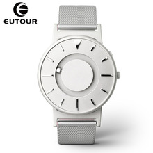 Eutour Magnetic Watch Quartz Fashion Women Men Luxury Brand Stainless-Steel Casual Relogio Masculino