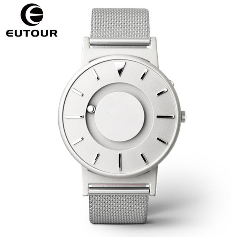 Eutour Magnetic Watch Men Luxury Brand Quartz Women Wrist Watches Fashion Casual Ladies Stainless Steel Watch relogio masculino все цены