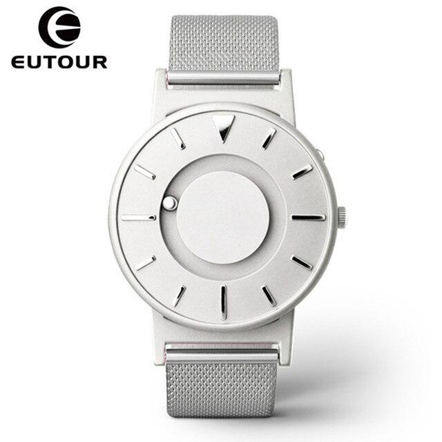 Eutour Watch Men Women Luxury Brand Quartz Wristwatch Fashion Casual Magnetic Ladies Stainless Steel Watches relogio masculino