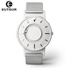 Eutour מגנטי שעון גברים יוקרה מותג קוורץ נשים שורש כף יד שעונים אופנה מקרית גבירותיי נירוסטה שעון relogio masculino