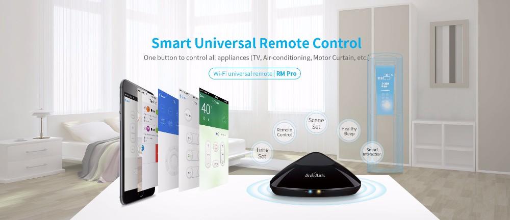 Broadlink RM Pro RM3 2018 Nouvelle Version RM Mini 3 Universel Intelligent IR + RF + Wifi À Distance Contrôleur Pour Ios Android Smart Home 11