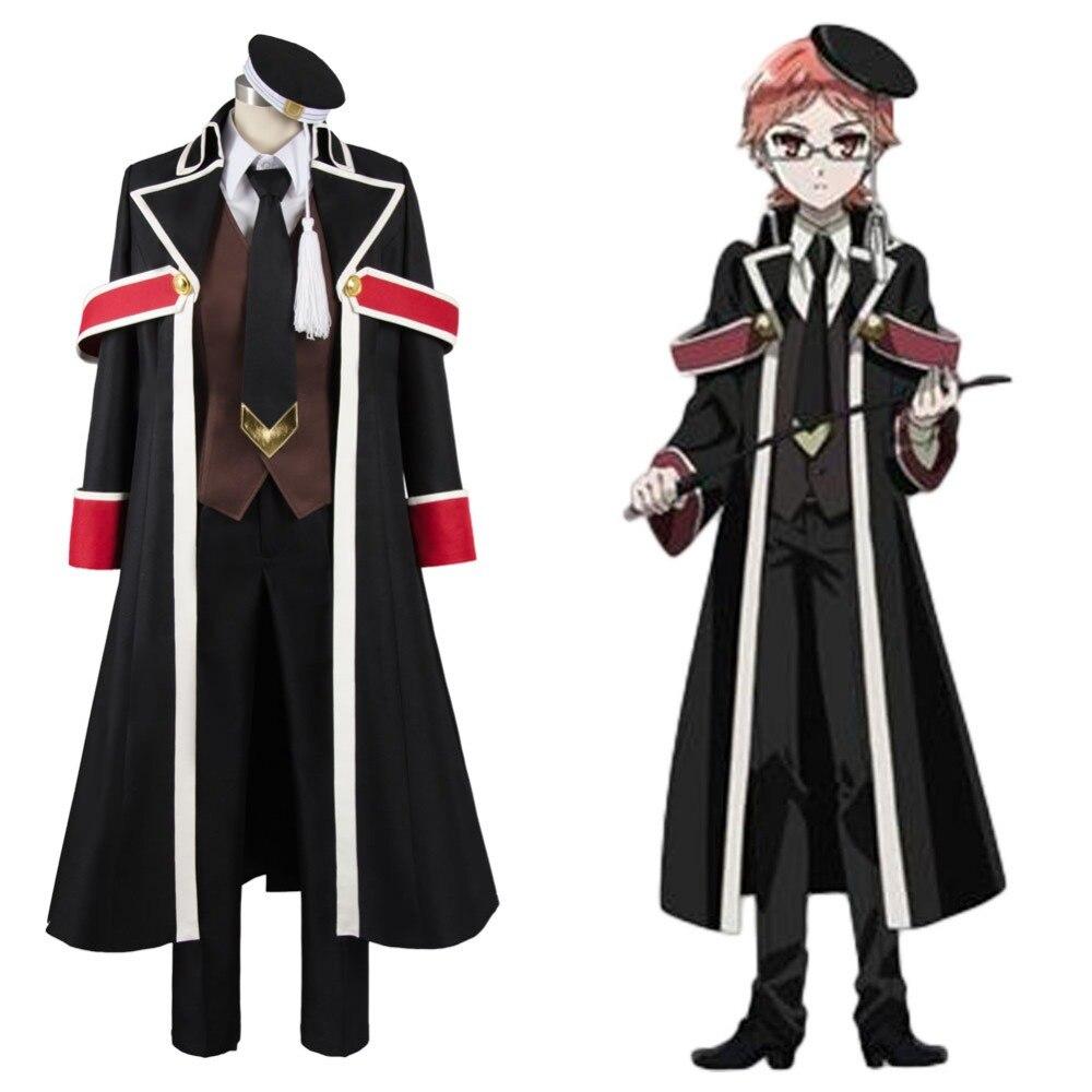 The Royal Tutor Heine Wittgenstein Uniform Cosplay Costume Halloween Carnival Full Set