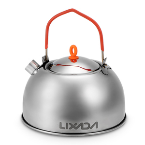 Image 3 - 0.6L Stainless Steel Tea Kettle Portable Outdoor Camping Hiking Water Kettle Teapot Coffee Pot Outdoor Tableware