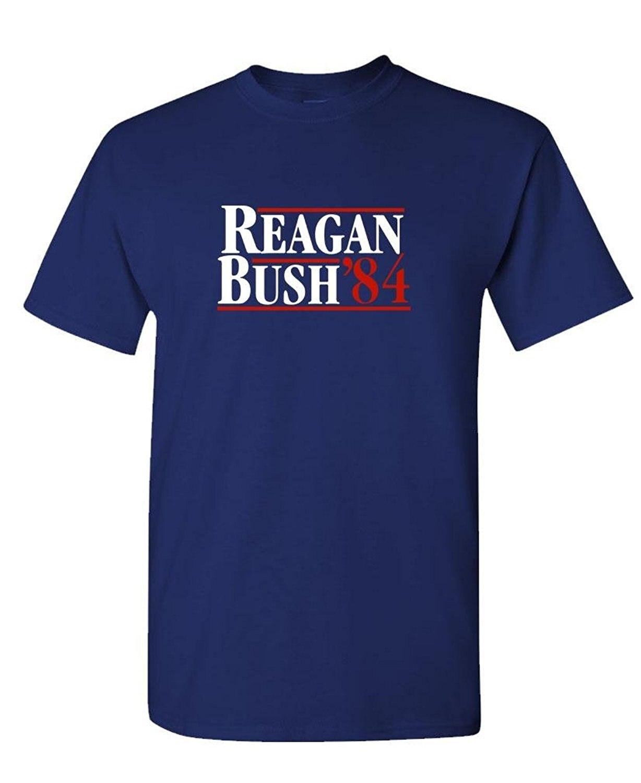 Design your own t shirt mens - Black Friday Design Your Own T Shirt Online Men S Reagan Bush 84 Cotton Printing Machine O Neck Short Sleeve T Shirts