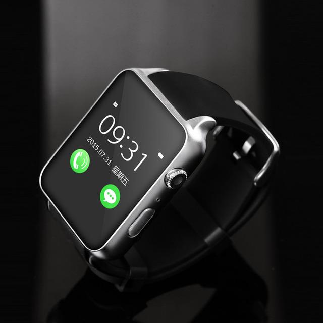 Hot gt88 smart watch waterproof monitor de freqüência cardíaca do bluetooth apoio tf/cartão sim smartwatch para iphone 5s 6 s android smart watch