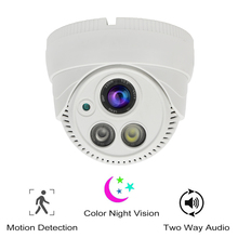 Hareket aktif tam renkli gece görüş akıllı güvenlik WiFi Dome kamera 1080P HD kapalı cctv güvenlik kamerası iki yönlü ses