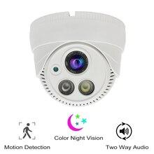 Z czujnikiem ruchu kolorowy noktowizor inteligentne bezpieczeństwo WiFi kamera kopułkowa 1080P HD nadzór wewnętrzny kamera telewizji przemysłowej dwukierunkowy dźwięk