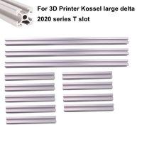 T Slot Aluminum Extrusion Profile 2020 3pcs x 1000mm 9pcs x 395mm for 3D Printer Kossel Large Delta