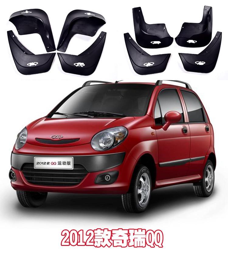 Используется для Защитные чехлы для сидений, сшитые специально для chery QQ6 QQ3 QQ Брызговики стайлинга автомобилей крыло брызговики - Цвет: 2012 QQ