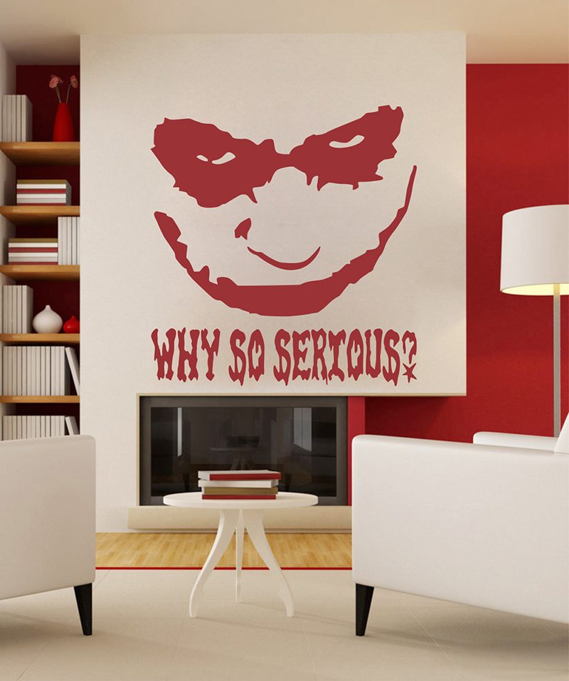 Compare prices on large wallpaper murals online shopping for Harley quinn bedroom designs