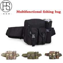 Multifunction Protector Plus Unisex Bottle Pocket Riding Kettle Outdoor Travel Fishing Bag Leisure Camo Waist Belt