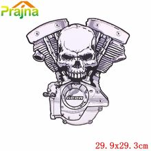 1PCS Punk Rock Patch Cool Embroidered High Quality Wolf Snake Eagle Large Size Badges Motorcycle Biker Patches For Jacket Vest(China)