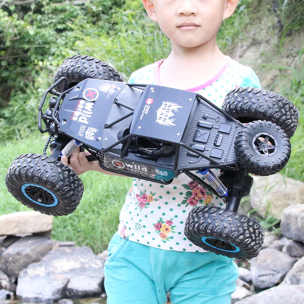 2019 New 30KM/H HIgh Speed Water Land Amphibian Remote Control Racing Car 2.4G 15Mins 4WD Driving All Terrain Waterproof RC Car