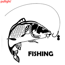Fish Fishing Fashion Car Styling Cool Graphics Motorcycle SUVs Bumper Car Window Laptop Stickers Decals Vinyl