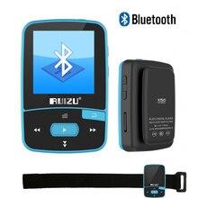 Мини оригинальный ruizu X50 8 ГБ Поддержка карты памяти, fm Радио, Запись, электронная книга, Секундомер музыкальный плеер Спорт клип MP3 плеер Bluetooth