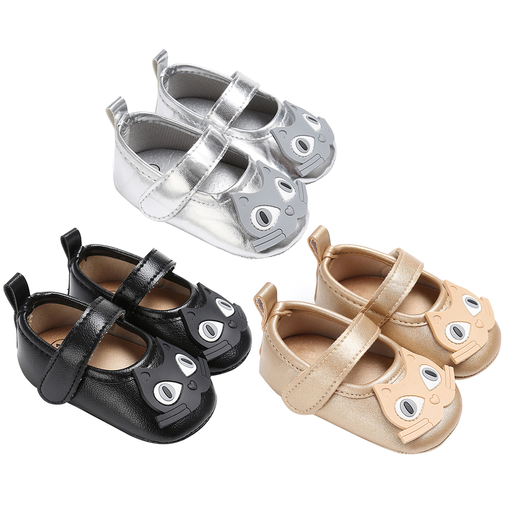 1 Pair Cute Toddlers Baby Shoes Owl Type PU Leather first walker Soft Sole Anti-slip First Walkers Newborn Baby Girl Boy Shoes