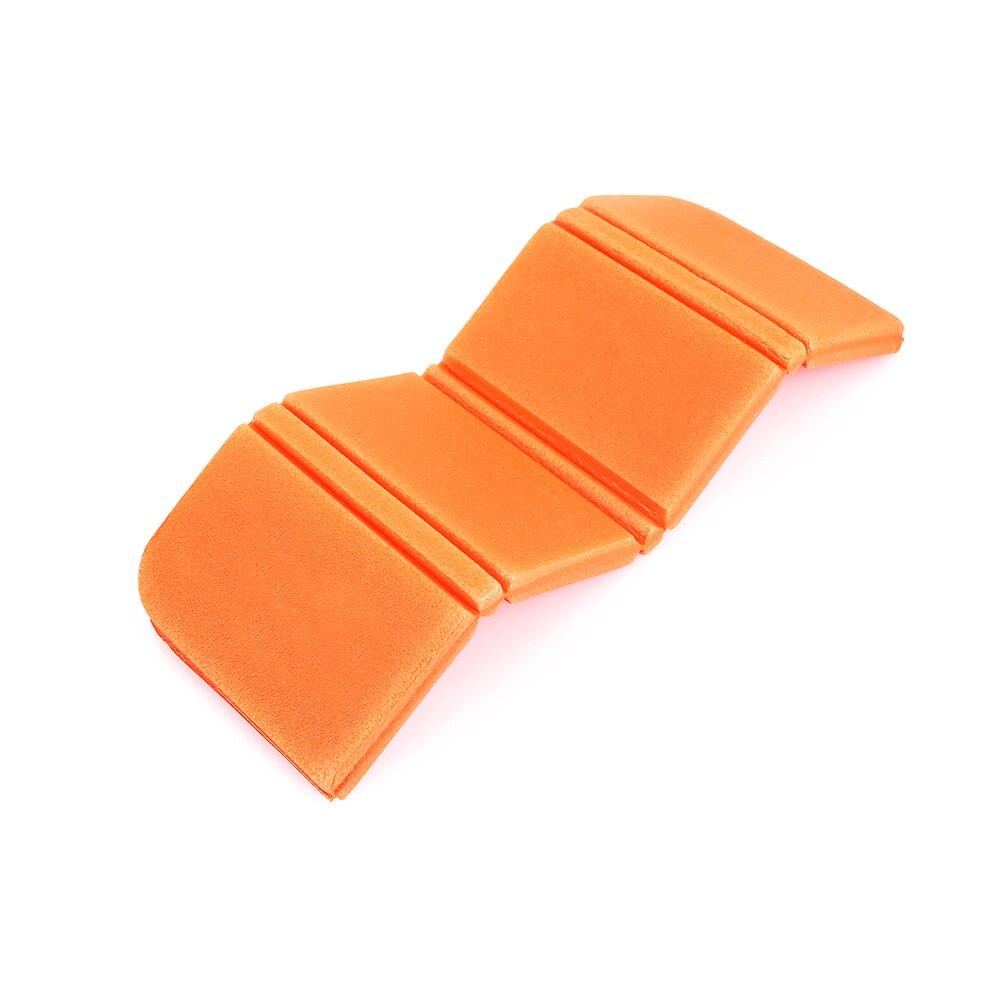 8 цветов коврик для отдыха на природе Мягкий складной походный коврик для пикника Рыбалка на открытом воздухе 275 мм влагостойкая Сидящая Подушка пляжный парк - Цвет: orange