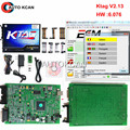 Hot Sale KTAG V2.13 Hardware V6.070 Unlimited Version  K TAG Master ECU Programming Tool K-TAG  Free Shipping