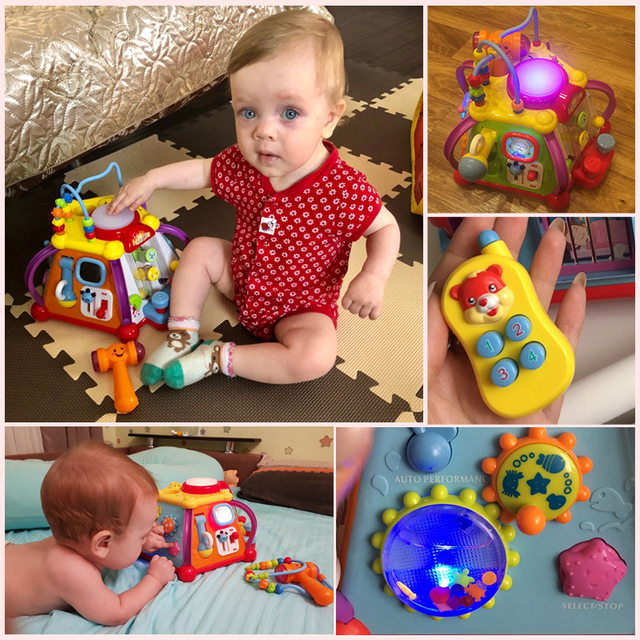 Toddler Multi-Activity Interactive Learning Toy