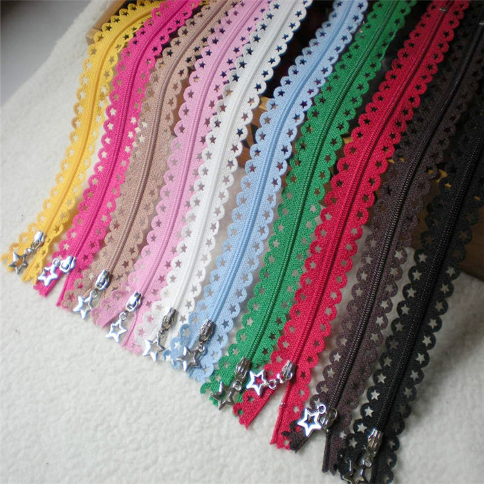 Buy new 10pcs 25cm beautiful stars lace for Sewing materials