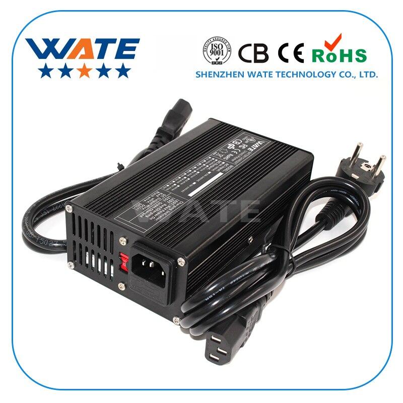 12 6V 10A Charger 3S 12V Li ion Battery Smart Charger aluminum case Lipo LiMn2O4 LiCoO2