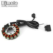 BJMOTO Motorcycle Ignition Magneto Coil Engine Stator Generator Comp For Yamaha ATV YFM550/YFM700 Grizzly 550/700 09-14