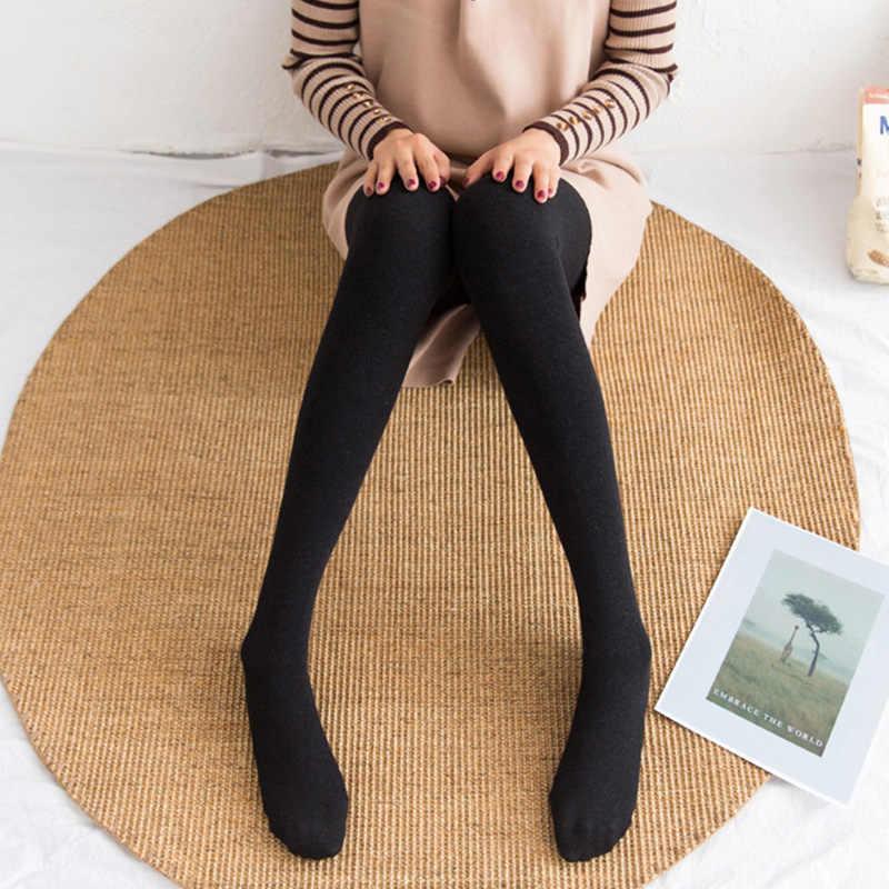 79900b70732 Warm Plus velvet wool pants cotton women s pantyhose 2019 NEW Autumn winter  Thicken thin hips Tights