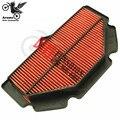 Alta calidad de la motocicleta accesorios por suzuki moto filtros de aire para GSR750 11-12-13 piezas de moto filtro aire