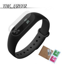 2Pcs xiao mi watch band Screen For Mi Band 2 Smart Wristband Bracelet Full Cover film Not Tempered Glass
