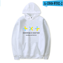 2019 Kpop Clothing Tomorrow X Together Hoodie Women Kpop Style Oversized Tracksuit Hooded Hoodies Women Pullover Streetwear