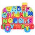 2016 Детей развивающие игрушки Деревянные Буквы И Цифры Познавательная головоломки деревянные Просветить игрушки