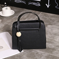 LINLANYA Shoulder bag for Women Messenger bags Fashion Tassel Handbags black Top handle bags PU Leather Bolsas Y-426