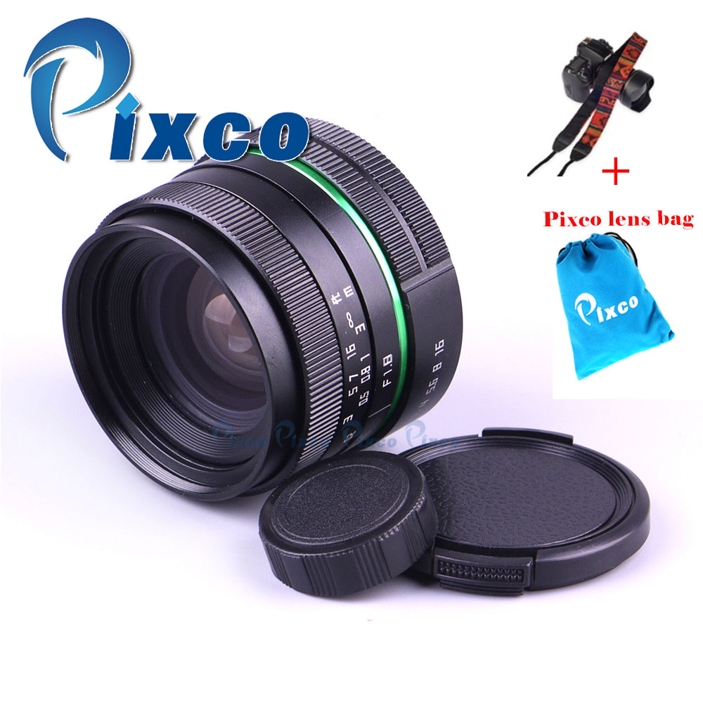 Pixco Suit For 16mm C Mount for Micro 4/3 Camera 25mm F1.8, APS-C Television TV Lens/CC TV Lens + Lens Bag+Camera Straps цена
