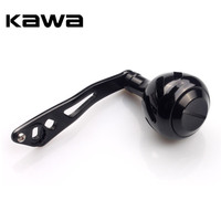 2018 Kawa Aluminum Alloy Reel Handle  Fishing Reel Accessory  8x5mm for Abu and Daiwa  51g  Left and Right Hand Can Exchange|Fishing Reels| |  -