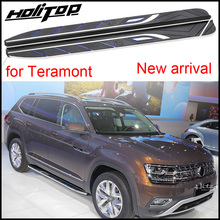 New arrival nerf bar running board feet side step for VW Volkswagen Teramont 2016-2018+, ISO9001 quality,low price for promotion