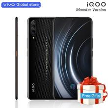 Monste версия celular iQOO мобильный телефон Snapdragon 855 NFC type-C 4000 мАч 44 Вт Быстрая зарядка Прохладный 4D игровой смартфон