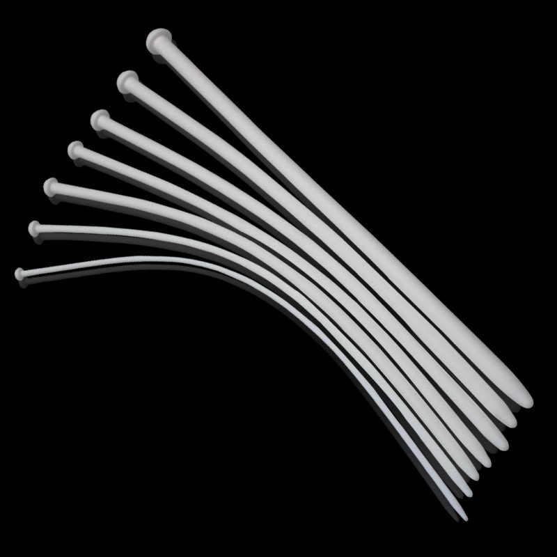 Lungo 352 millimetri Bianco In Silicone Spina Uretra Giocattoli Del Sesso Catetere Penis Plug Stretching Dispositivo di Castità Uretrale Dilatatori Giocattoli Adulti Del Sesso