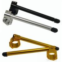 2pcs Universal Racing Adjustable CNC 48 50 51 52 53MM Clip On Ons Fork Handlebars Handle
