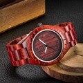 El más nuevo!! 2017 fashion sandal wood reloj de cuarzo relojes casuales para hombre famoso de la marca mujeres del reloj de regalo de navidad de madera reloj de madera